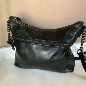 Margot leather crossbody